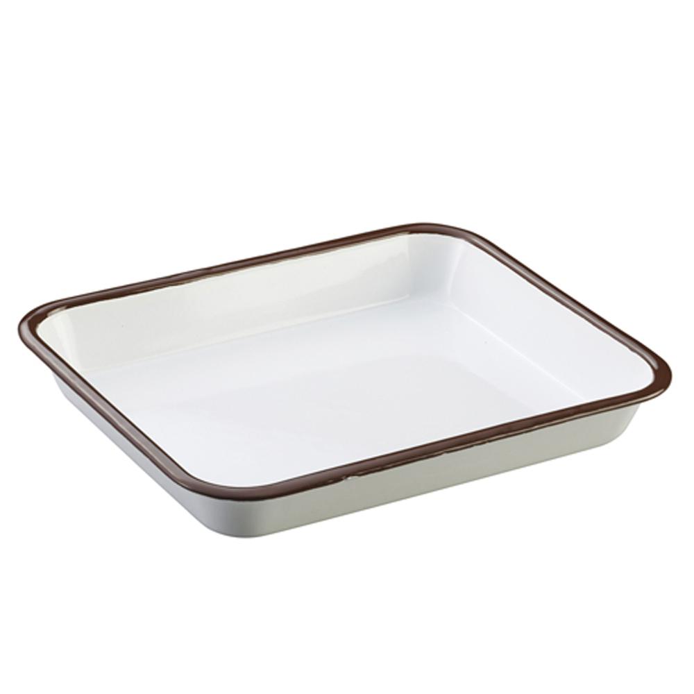 月兔印 琺瑯調理方盤-25cm @ Y!購物