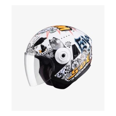 【SOL】SO-5 哈士奇 白銀 3/4罩(安全帽│機車│半罩│內藏墨鏡│GOGORO)