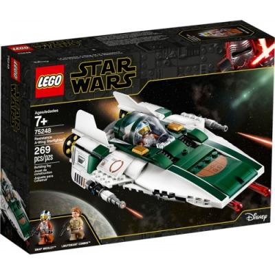 樂高LEGO 星際大戰系列 - LT75248 Resistance A-Wing