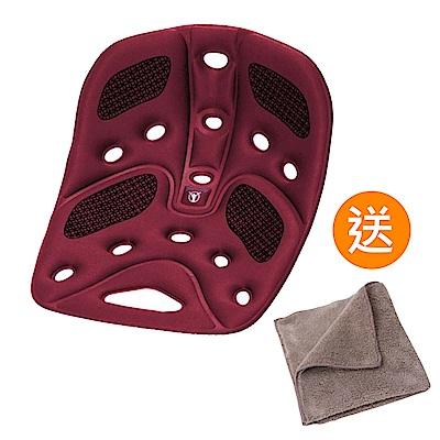 BackJoy 美姿墊Traction/升級版(酒紅色)《送 攜帶型小方巾》