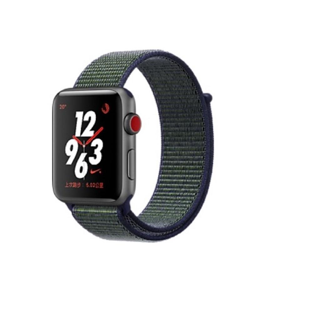 Watch Nike+ Series3 GPS+行動網路42公釐 灰鋁/霧灰