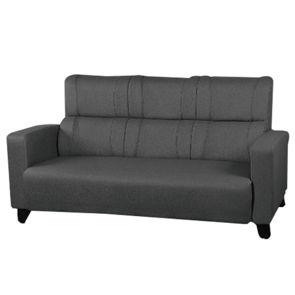 綠活居 羅莎貓抓皮革三人座沙發椅(三色)-183x76x96免組