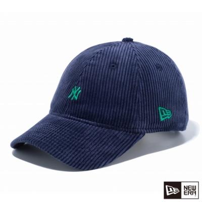 NEW ERA 9THIRTY 930 燈心絨 MINI LOGO NY 海軍藍/綠 棒球帽