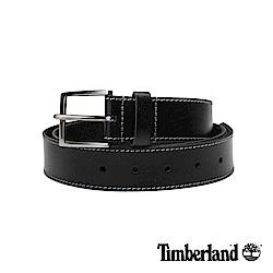 Timberland 中性黑色40mm皮帶|A1DQK