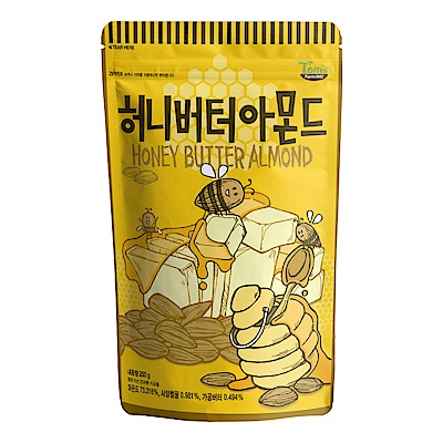 韓國Toms Gilim杏仁果-蜂蜜奶油味250g