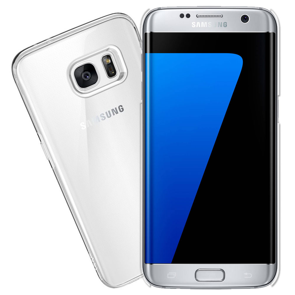 Samsung S7 edge 5.5吋 超耐塑晶漾高硬度(薄)背殼 透明殼