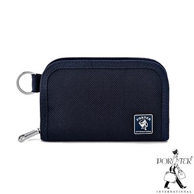 PORTER - 經典新進化NEW HEAT卡片零錢包 - 深藍