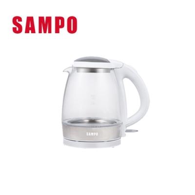 (快速到貨) SAMPO 聲寶 - 1.2L玻璃快煮壺 KP-CA12G