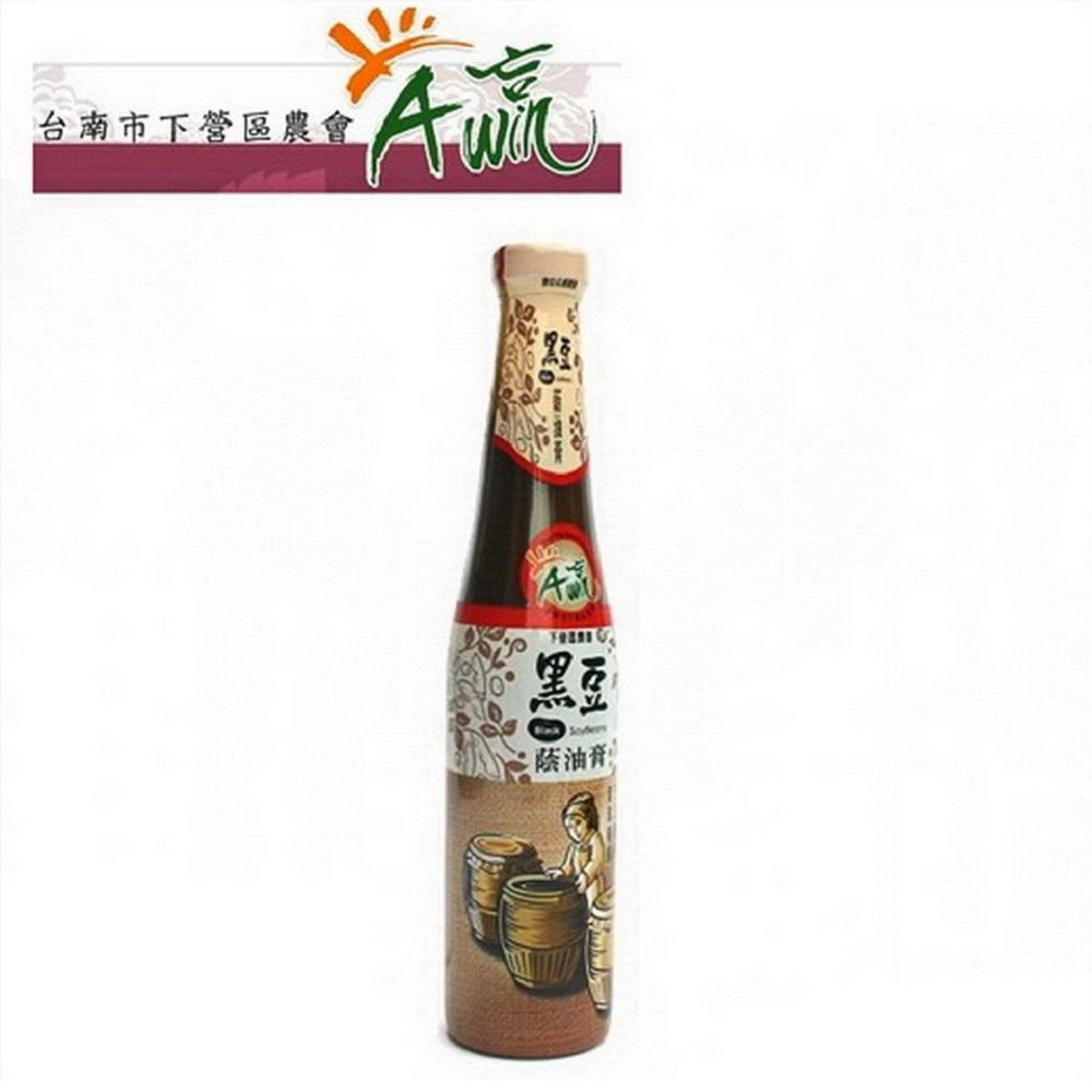 台南下營區農會 黑豆蔭油膏(420ml)