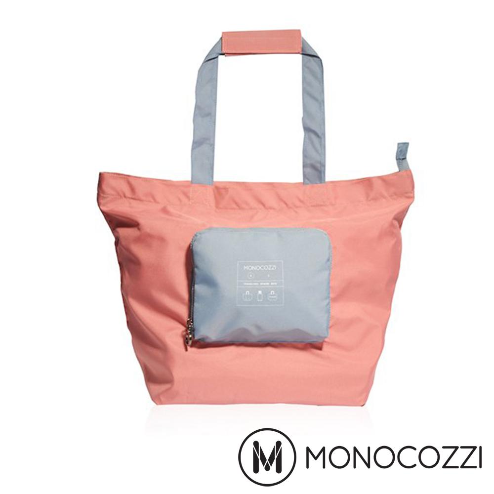 MONOCOZZI Bon Voyage 旅行折疊手提肩背包(S) - 珊瑚紅