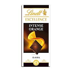 Lindt 瑞士蓮 極醇系列香橙口味黑巧克力(100g)