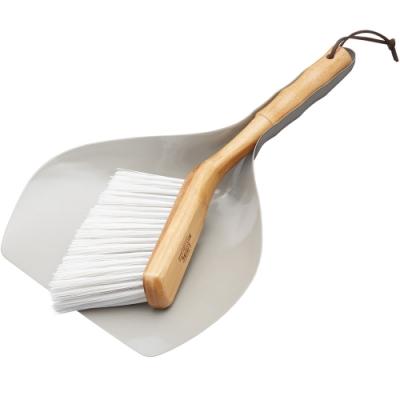 《KitchenCraft》復古桌面竹掃把+畚箕