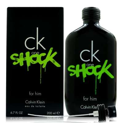 CK ONE SHOCK FOR HIM 男性淡香水200ml