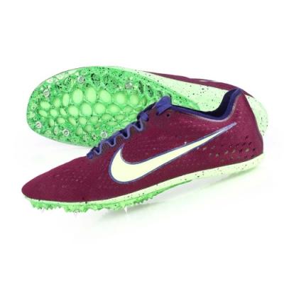 NIKE ZOOM VICTORY ELITE 2-男女限量田徑釘鞋-中長距離  競賽 835998500 深紫螢光綠