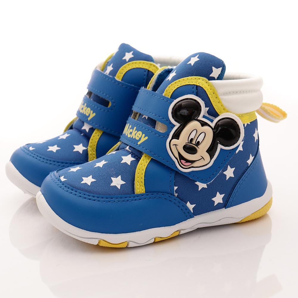 迪士尼童鞋 米奇短靴款 TH15203藍(中小童段)