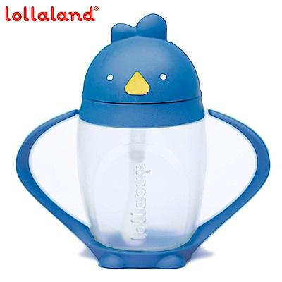 美國Lollaland可愛造型小雞杯 吸管學習杯/水壺296ml (海底雞/藍色)