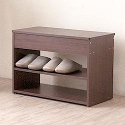 《HOPMA》DIY巧收掀蓋式穿鞋椅-寬60.2 x深30.2 x高42.2cm