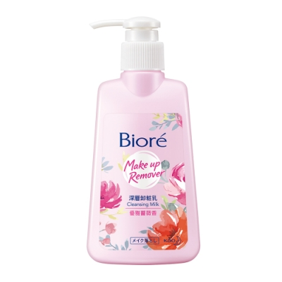 Biore 深層卸粧乳 優雅薔薇香 (180ml)