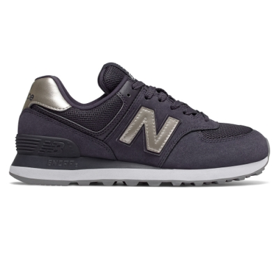 New Balance 574 WL574WNM-B 女性 暗紫