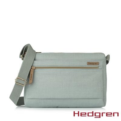 Hedgren INNER CITY輕量經典 M 側背包 自然綠