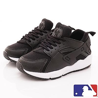 洋基MLB童鞋 短筒沁黑老爹鞋款 NI83064黑(中小童段)