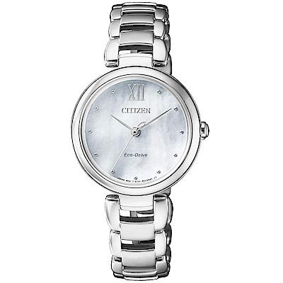 CITIZEN L系列璀璨光動能時尚腕錶(EM0530-81D)
