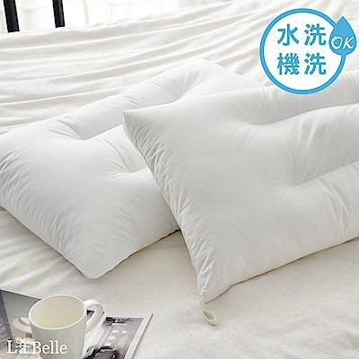 義大利La Belle 高效透氣抑菌小型水洗枕二入