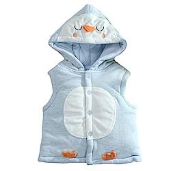 企鵝造型厚棉連帽背心外套 k60921 魔法Baby