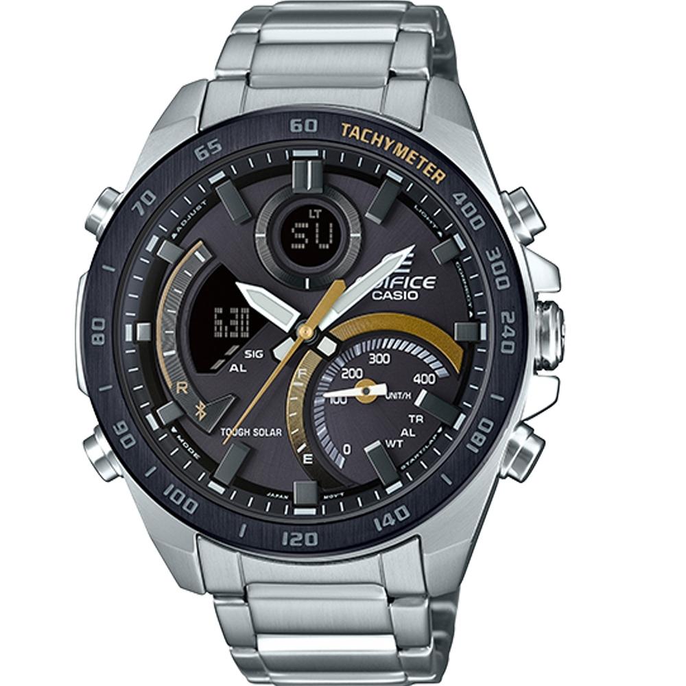 CASIO EDIFICE  藍牙連結智慧型手錶(ECB-900DB-1C)