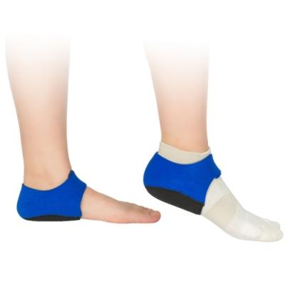 JHS杰恆社abe095矽膠足跟墊骨刺加厚保暖減震柔軟腳後跟痛男士女跟腱炎足跟痛鞋墊