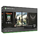 Xbox One X 1TB 《湯姆克蘭西:全境封鎖 2》同捆組