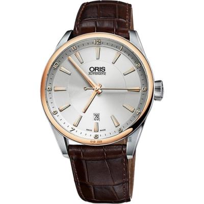 ORIS 豪利時 ARTIX DATE 日期機械錶-42mm 0173376426331