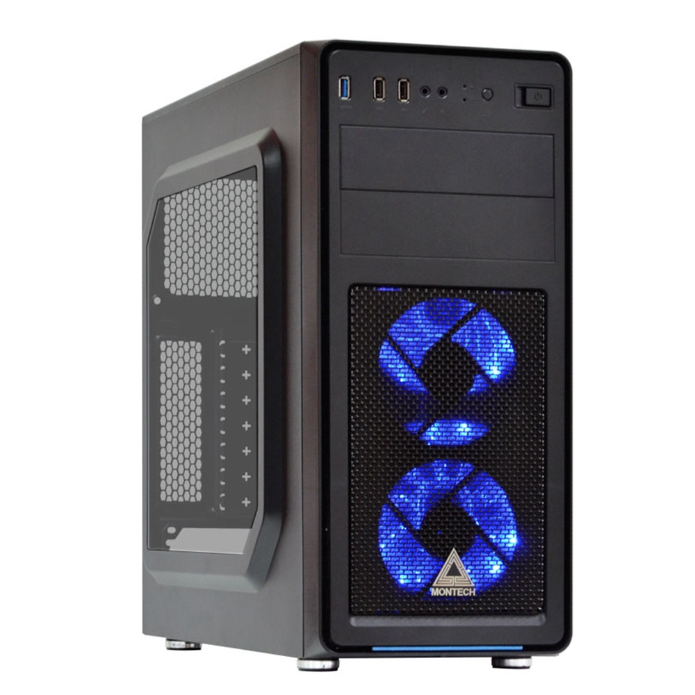 微星平台 i7 六核{地獄聯盟}GTX1660-6G獨顯電玩機