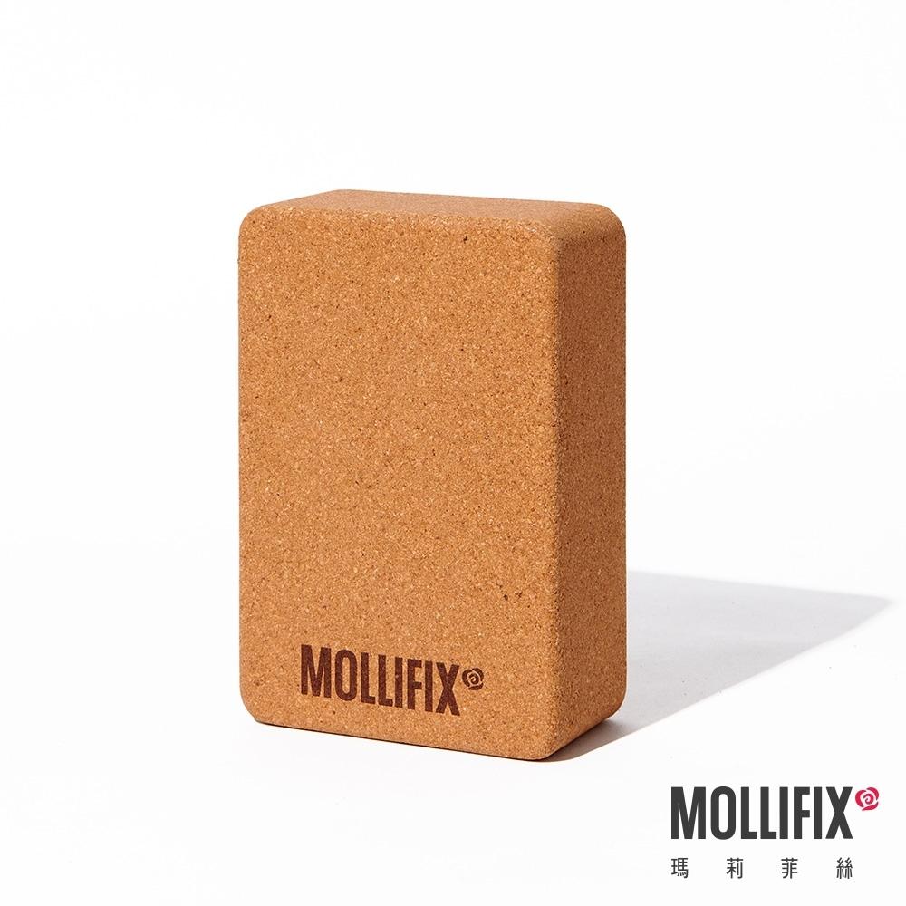 Mollifix 瑪莉菲絲 天然環保軟木瑜珈磚