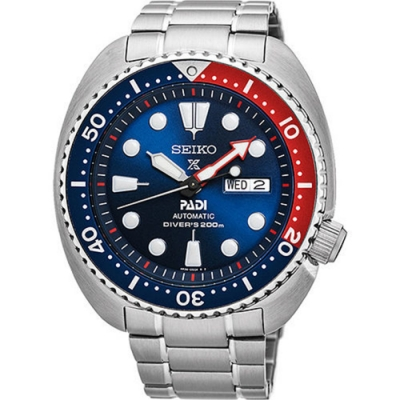 SEIKO 精工Prospex PADI 限量潛水200M聯名款機械錶(SRPA21J1)