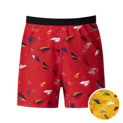 DADADO 翱翔啟飛 110-130男童內褲(黃) 品牌推薦 舒適寬鬆 四角男褲