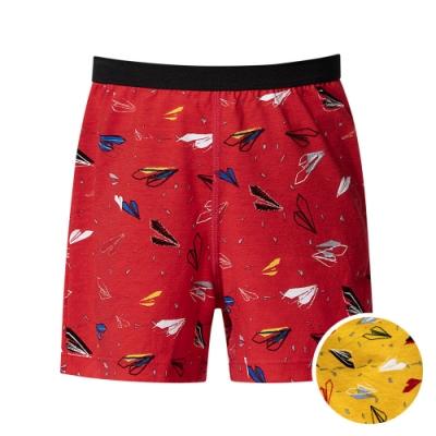 DADADO 翱翔啟飛 140-160男童內褲(黃) 品牌推薦 舒適寬鬆 四角男褲