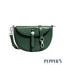 PEPPER'S Mona 牛皮信封馬鞍包 - 橄欖綠