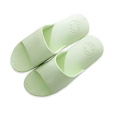 DIDA 超彈力氣墊舒壓減壓拖鞋-女款淺綠