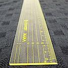 countrry mama 定規尺(黃)25cm