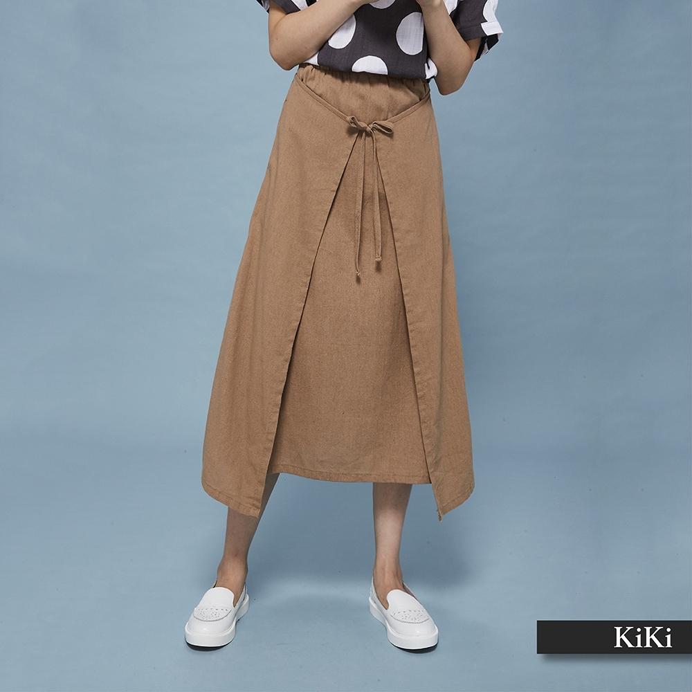 【KiKi】兩件式法式浪漫-長裙(三色)