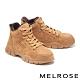 休閒鞋 MELROSE 復古時髦綁帶造型厚底休閒鞋-棕 product thumbnail 1