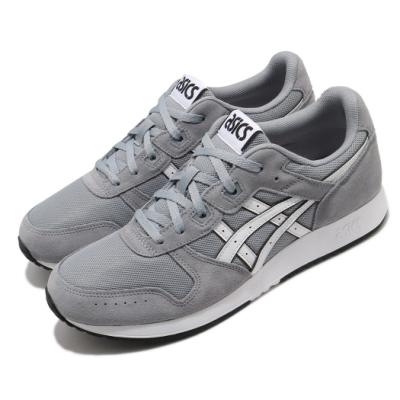 Asics 休閒鞋 Lyte Classic 復古 男鞋 復刻慢跑鞋 皮革 網布 麂皮 異材質 灰 白 1191A297020