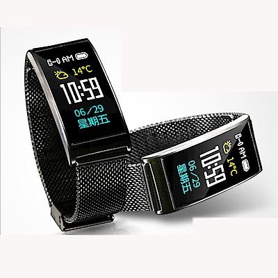 美國熊 金屬錶帶 心率 計步智慧手錶 手環 運動模式 睡眠監測