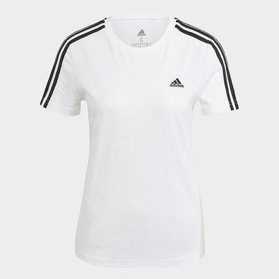 adidas LOUNGEWEAR ESSENTIALS 短袖上衣 女 GL0783