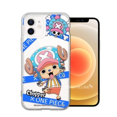 東映授權正版 航海王 iPhone 12 / 12 Pro 6.1吋 共用 透明空壓手機殼(封鎖喬巴)