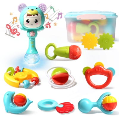 CuteStone 手搖鈴節奏棒套裝玩具