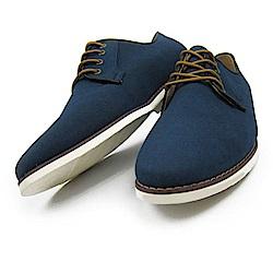 BuyGlasses 獨特風尚麂皮面鞋-藍