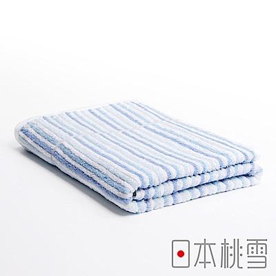 日本桃雪 今治浪花浴巾(湛藍海洋)