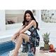 Biki比基尼妮泳衣,伊沙麗連身泳衣二件式紗裙泳裝(M-2XL) product thumbnail 1